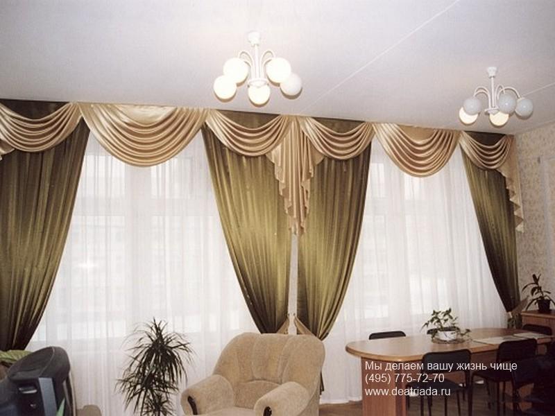 Если правильно подобрать шторы для гостиной, то образ комнаты станет...